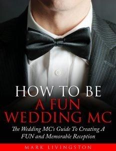 wedding reception master of ceremonies